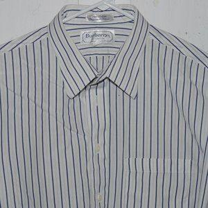 Burberry dress mens shirt size 17 1/2 J1065